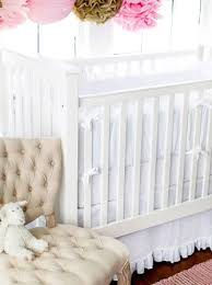 linen white crib bumper white crib bumper pads neutral baby