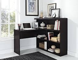 black l shaped desk with hutch bookcase black l shaped desk and bookcase amazing l shaped desk