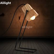 online get cheap wood study table aliexpress com alibaba group coffee shop bar study table light multifunctional wood desk light art table lamp iron holder with