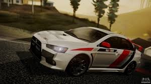 2015 mitsubishi rally car mitsubishi lancer evolution x 2015 final edition for gta san andreas