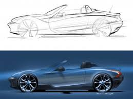 sideview sketch tutorial car body design