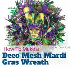 mardi gras deco mesh how to make a deco mesh mardi gras wreath southern charm wreaths