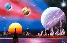 Amazing Spray Paint - new york street artist spray paint artwork flickr spray paint