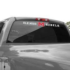 ole miss alumni sticker of mississippi auto accessories ole miss rebels car