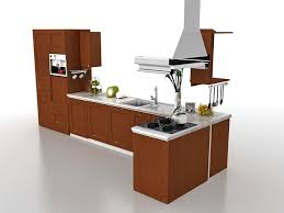 straight line kitchen designs kitchen cabinets design 3d model 3ds