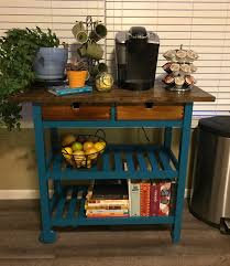 ikea forhoja cart painted and stained decor pinterest diy