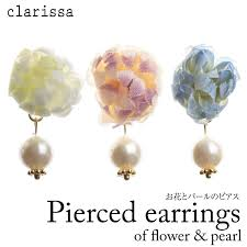 japan earrings clarissa of wedding party dress rakuten global market women s