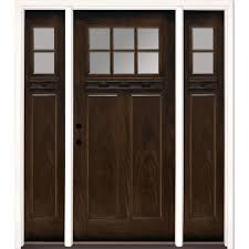 Ashworth By Woodgrain Millwork by Single Door With Sidelites Front Doors Exterior Doors The