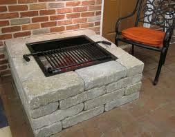 Firepit Inserts Fantastic Pit Insert 24 Square W Grate Garden Landscape