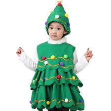 christmas tree costume children s christmas performance costumes child festival