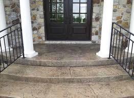concrete porches and walkways indy decorative concrete
