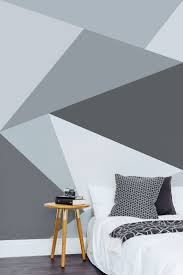 bedrooms modern bedroom designs trendy grey wallpaper white