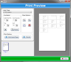 label printer for avery or custom labels ssuite office software