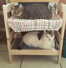 ikea cat bed hack using duktig photos