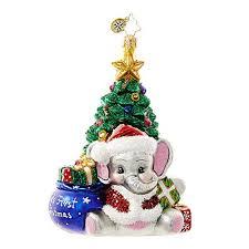 a trunk ful 1018648 christopher radko ornament
