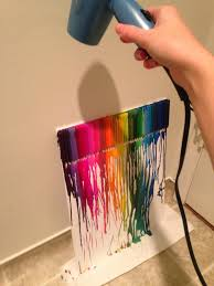 Remove Crayon From Wall by How To How Hard And How Much Melted Crayon Art With A Disney Twist