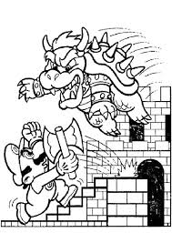 27 coloring super mario images drawings