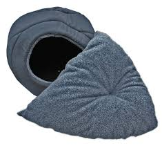 Hooded Dog Bed Extra Large Hooded Pyramid Dog Bed Designed To Fit Two Small Dogs
