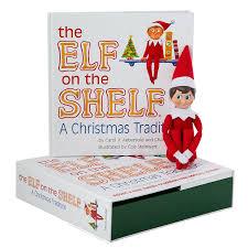 amazon com elf on the shelf a christmas tradition blue eyed boy