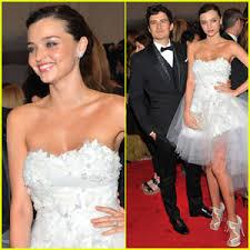wedding dress miranda kerr orlando bloom miranda kerr met 2011 2011 met