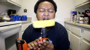 Challenge Wrong Corn On The Cob With A Drill Challenge Wrong Coub