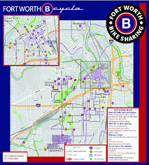 Ft Worth Map System Map