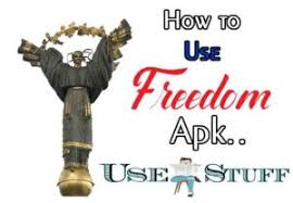 how to use freedom apk how to use freedom apk step by step process to use freedom app