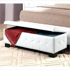 Storage Bench Seat Ottoman Storage Seat Wonderful Leather Storage Bench Seat Bedroom