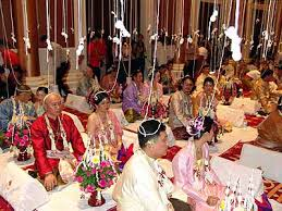 mariage thailande les liens qui unissent les thaïs le sai cordon sacré le