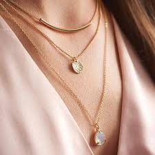 layer necklace images Gold layered necklace by my posh shop jpg