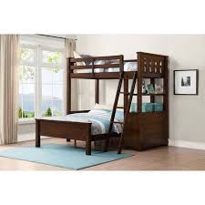 Whalen Nicholas Twin Over Full Wood Loft Bunk Bed With Storage - Full loft bunk beds