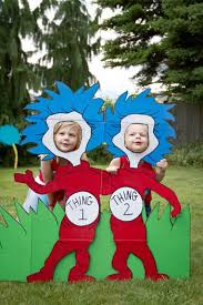 Thing One And Thing Two Party Decorations Cat In The Hat Party Ideas Baby Shower Ideas Themes