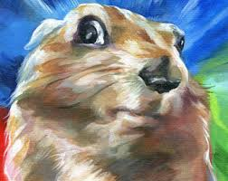 Dramatic Squirrel Meme - prairie dog art etsy