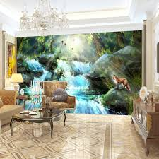 high quality modern desgin natural scenery oil painting 3d