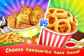 jeux de cuisine frite stand de restauration rapide jeu de cuisine de nourriture