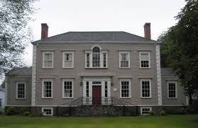 adam style house federal style home house affair