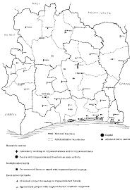 Ivory Coast Map Chapter 9 Ivory Coast