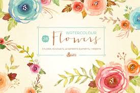 Watercolor Flowers - watercolor flowers pack illustrations creative market