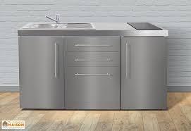 cuisiner avec l induction mini cuisine avec frigo lave vaisselle et induction mpgses 160