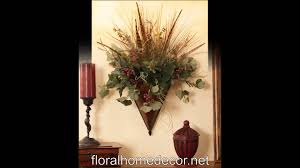 wall sconces floral home decor youtube