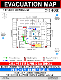 Fire Evacuation Plan Office by Office Evacuation Maps Evacsigns