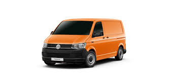 orange volkswagen van the volkswagen transporter van sydney city volkswagen