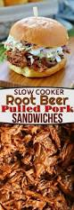 slow cooker root beer pulled pork sandwiches mom on timeout