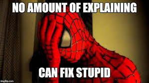 Spiderman Meme Creator - spiderman facepalm meme generator imgflip