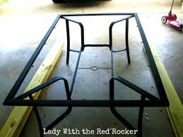 replace broken glass table top new table new table top lady with the red rocker