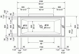 Bathtub Sizes Standard Bathtubs Cool Contemporary Bathtub 115 Dimensions Of Clawfoot