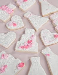 wedding cookie cutters pink and white wedding cookies cookie decorating