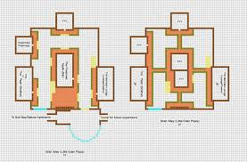 home design blueprints for houses modern minecraft architectuur