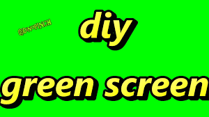 diy green screen video production included color code youtube