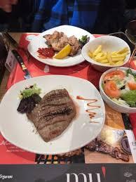 la cuisine de mu 10 menu picture of mu el placer de la carne madrid